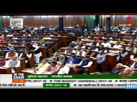 Finance Minister Arun Jaitley Budget Speech 2017 LIVE