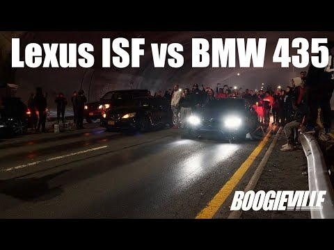 Modded Lexus ISF vs Modded BMW 435!!