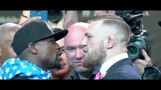 HD Conor McGregor vs Floyd Mayweather Best Trash Talk and Moments