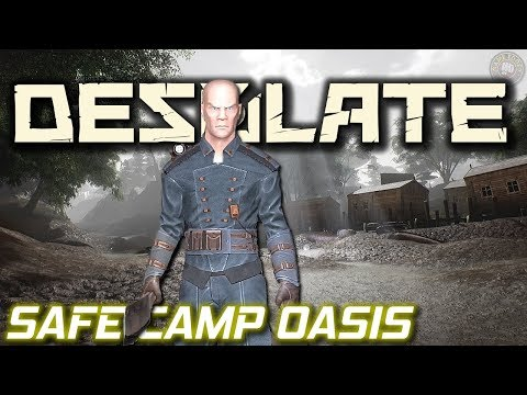 Safe Camp Oasis Crating Tables | Desolate Gameplay | EP2