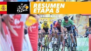 Resumen - Etapa 5 - Tour de France 2018