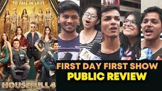 HOUSEFULL 4 PUBLIC REVIEW   First Day First Show   Akshay Kumar, Bobby Deol, Ritesh