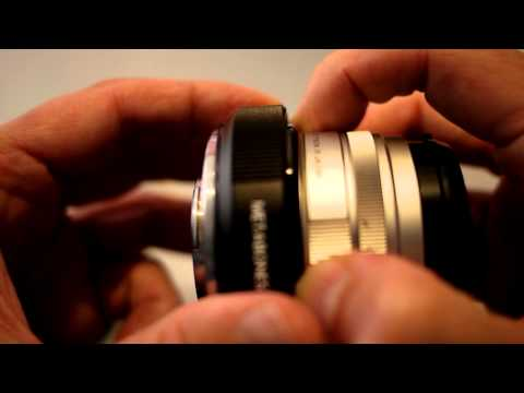 Issues with the Metabones adapter for Contax G lenses
