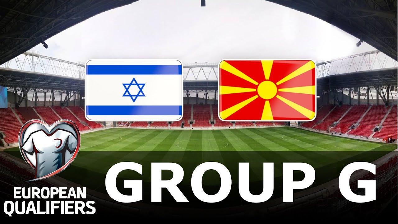 Israel vs North Macedonia - European Qualifiers - PES 2019