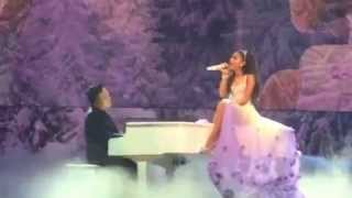 Ariana parla italiano♡