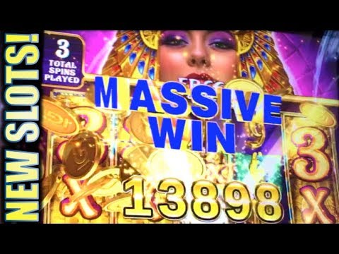 ★G2E 2017 NEW SLOTS PREVIEW!★ CLEOPATRA GOLD | WHEEL SHOT | FORTUNE ROOSTER (IGT)