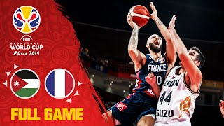 Jordan v France was a one sided affair! - Full Game - FIBA Basketball World Cup 2019