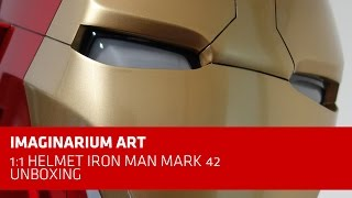 Imaginarium Art 1:1 Helmet Iron Man Mark 42 Unboxing