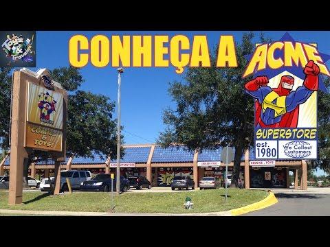 Acme Superstore - conheça a maior comic book shop de Orlando!