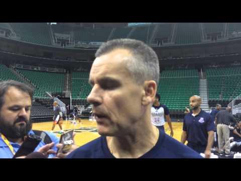 Donovan: Shootaround in Utah