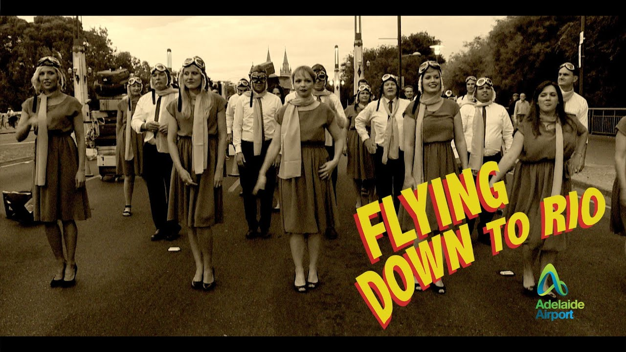 39Flying Down to Rio39 2015 Adelaide Fringe Parade YouTube