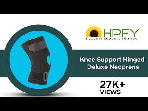Knee Support Hinged - Deluxe Neoprene