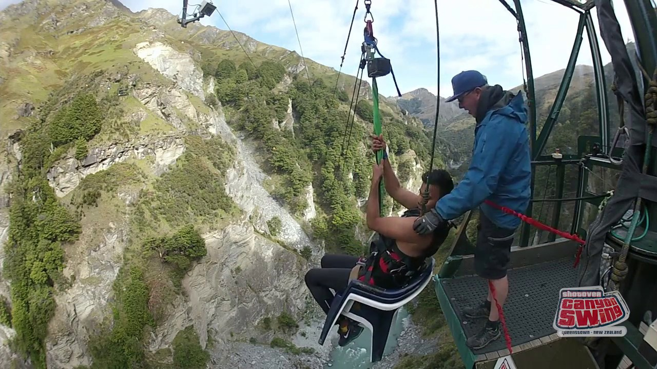 Canyon Swing The Chair Queenstown New Zealand Youtube