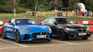 driving the f type svr to lemans 24 hours