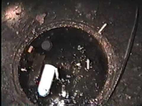 Abandoned Providence Rhode island train tunnel