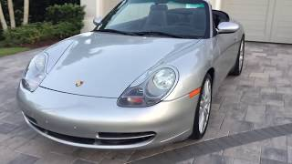 2000 Porsche 911 Carrera Convertible Review and Test Drive by Bill - Auto Europa Naples