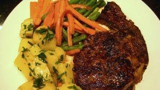 Steak - Piri Piri Seasoning - Liz Kreate - Recipe