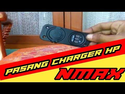 Cara Memasang Charger Hp Di Yamaha Nmax Youtube