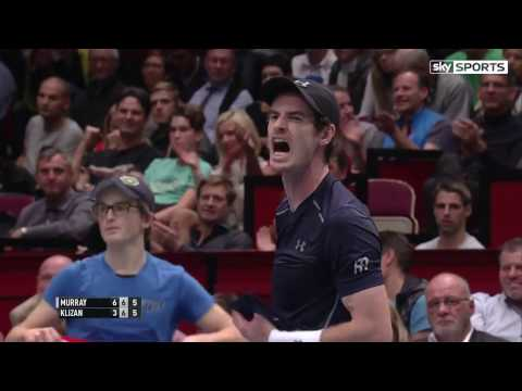 Andy Murray beats Martin Klizan in first round in Vienna 2016