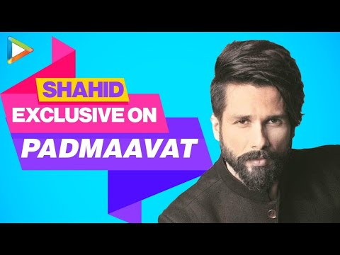 Shahid Kapoor | Padmaavat | Full Interview