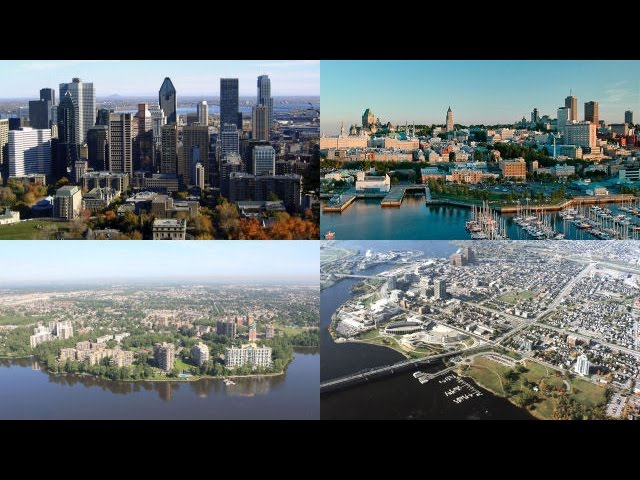 Top 10 - Villes du Québec par population