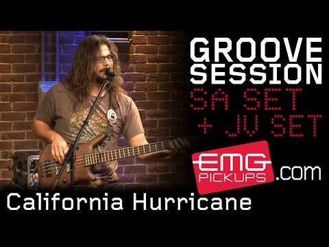 "GrooveSession performs ""California Hurricane"" live on EMGtv"