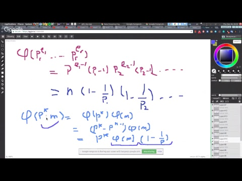 Euler's phi and Mobius inversion generalized