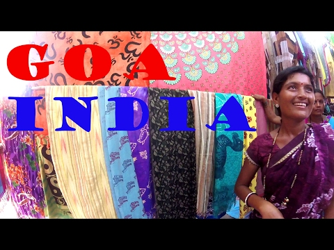 GOA, INDIA! Exploring Anjuna: the Flea Market, Live Music & Sunset