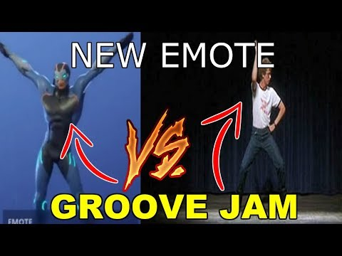 NEW GROOVE JAM DANCE IN REAL LIFE (Napoleon Dynamite DANCE) FORTNITE