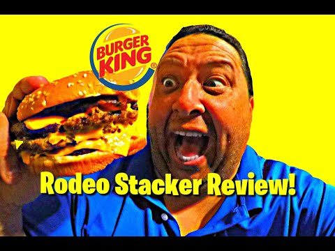 Burger King's Rodeo Stacker Review – A Foodie Federation Collab!