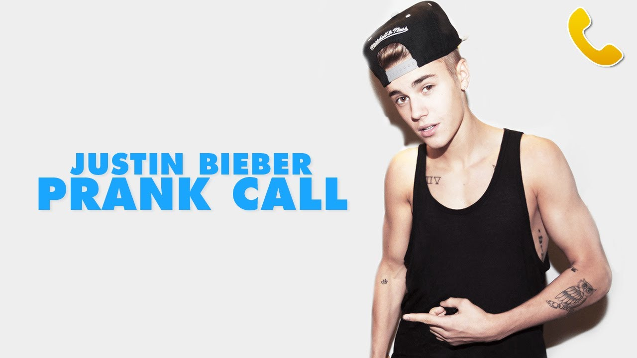 JUSTIN BIEBER PRANK CALL - YouTube 27b104201012f