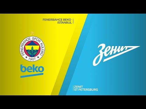 Fenerbahce Beko Istanbul - Zenit St Petersburg Highlights | Turkish Airlines EuroLeague RS Round 24