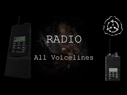 Radio | All Voicelines with Subtitles | SCP - Containment Breach (v1.3.11)