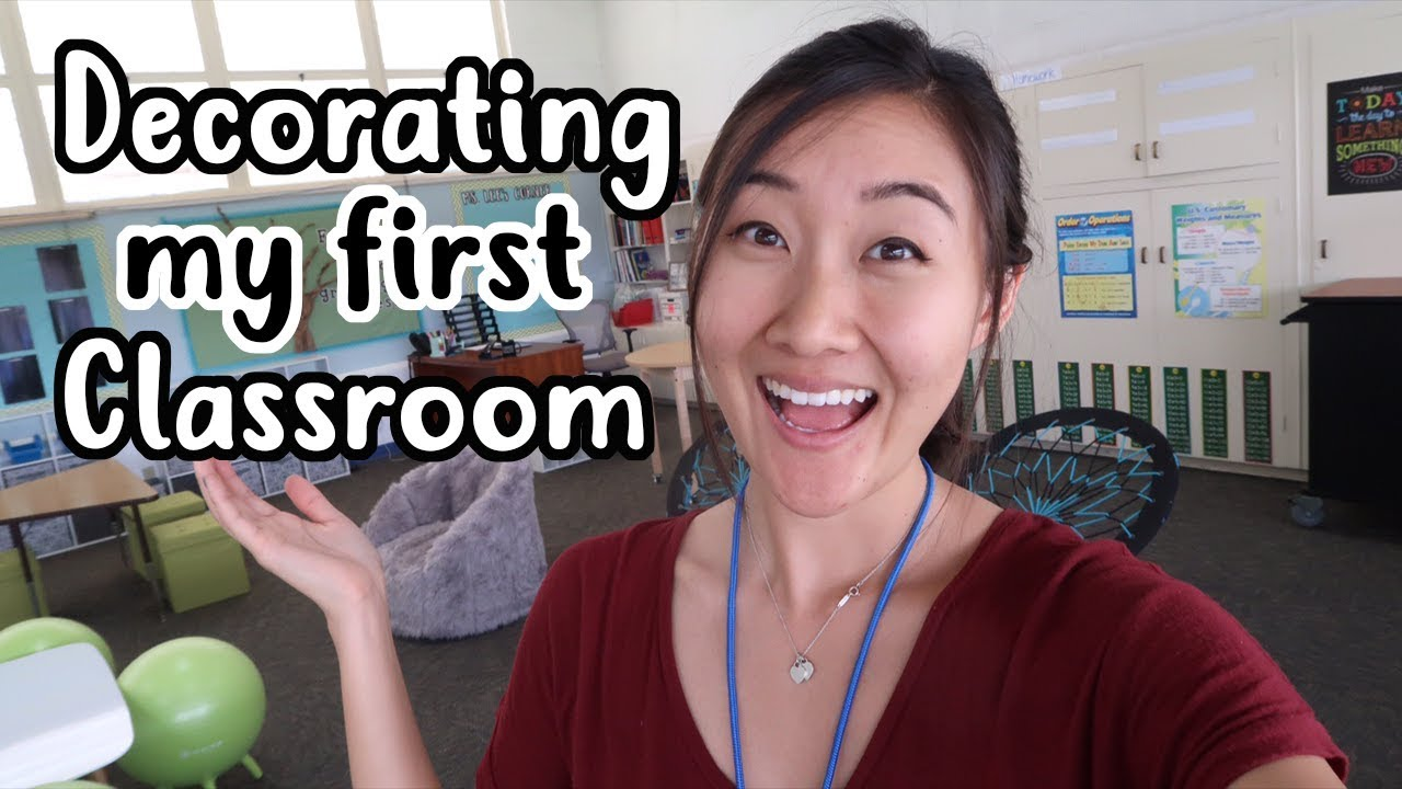 Decorating My Very First Flexible Seating Classroom  YouTube