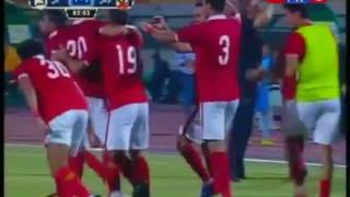 شاهد هدف سعد سميرفى الدقيقة 85 والتقدم لصالح النادى الأهلى من مباراة الأهلى vs  إنبى