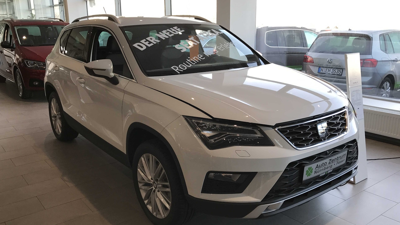 seat ateca xcellence new model 2017 nevada white. Black Bedroom Furniture Sets. Home Design Ideas