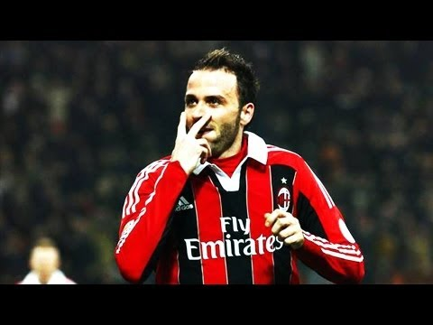 All 15 Giampaolo Pazzini Serie A Goals | AC Milan 2012/13