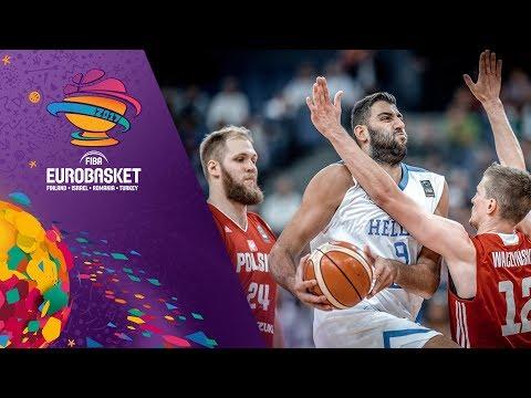 Greece v Poland - Full Game - FIBA EuroBasket 2017
