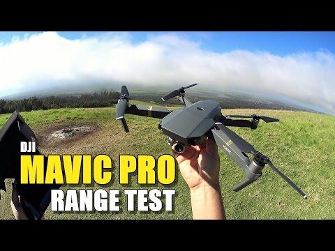 DJI MAVIC PRO Review - Part 3 - [6 Mile In-Depth Range Test]