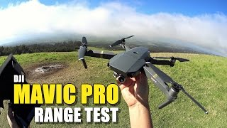 DJI MAVIC PRO Review - Part 3 - [6 Mile In-Depth Range Test]