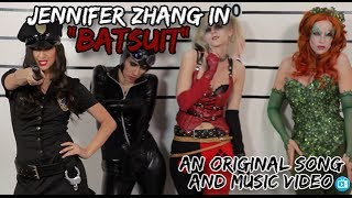 """BATSUIT"" - Batman Music Video feat. BATMAN, Nightwing, Catwoman from ""Jennifer Zhang VS"" Album"