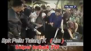 Detik detik Terakhir Bpk Peltu Tatang K. Sniper terbaik TNI