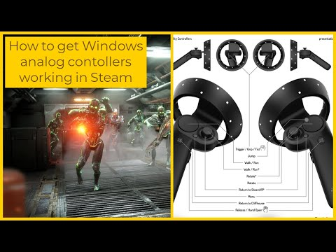 steam vr analog bindings tutorial for windows mixed reality