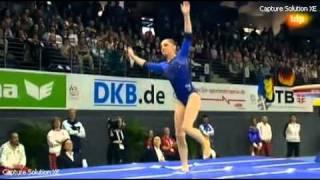 Aliya Mustafina (RUS) VT - AA Final - European Championships 2011