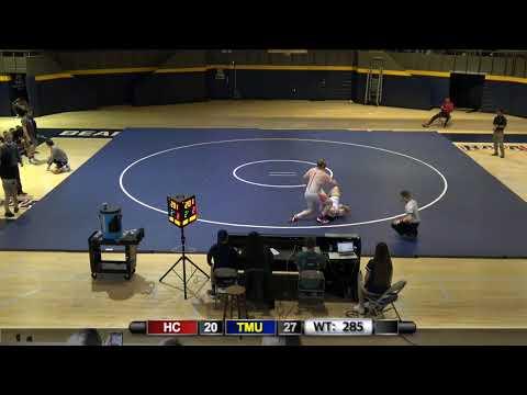 Wrestling vs. Huntingdon College