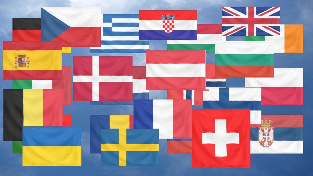 Flag Quiz Europe Easy Youtube