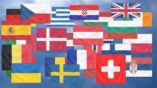 Flag Quiz, Europe. Easy!