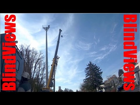 Cell Tower Install Start To Finish
