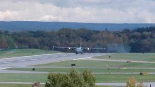 C-130 Performs Touch and Go at Albany Intl (Please read info)