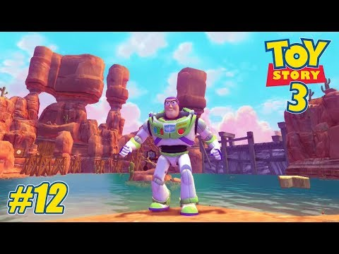 Toy Story 3 - Xbox 360 / Ps3 / Xbox One Playthrough Gameplay - Toy Box PART 12